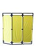 RS PRO Yellow Barrier, Free Standing Barrier