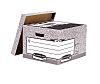 BANKERS BOX SYSTEM FILE STORE-GREY (FSC)