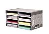 BANKERS BOX SYSTEM DESK TOP SORTER-GREY