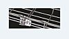 Cablofil International Wire Mesh Cable Tray, Steel 3m