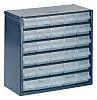 Raaco 30 Drawer Storage Unit, Steel, 283mm x