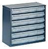 Raaco 24 Drawer Storage Unit, Steel, 283mm x