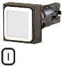 Eaton, RMQ16 Non-illuminated Red Square Push Button, 16mm