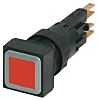 Eaton, RMQ16 Illuminated Red Square Push Button, 16mm