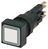 Eaton, RMQ16 Illuminated White Square, 16mm Momentary Push