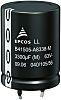 EPCOS 2200μF 63V dc Aluminium Electrolytic Capacitor, Through