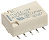 DPDT Surface Mount Latching Relay 2 A, 12V