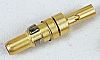 Amphenol ICC Male Crimp D-sub Connector Contact Coaxial,