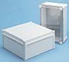 Fibox FEX, Grey Polycarbonate Enclosure, IP54, 278 x