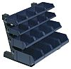 Raaco PP Storage Bin Container Rack, 388mm x