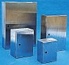 RS PRO 304 Stainless Steel Wall Box, IP66,