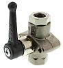 Legris Brass High Pressure Ball Valve 1/4 in