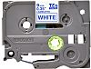 BROTHER Blue on White Label Printer Tape, 9