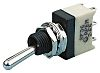 APEM SPST Toggle Switch, On-Off-On, Panel Mount