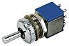 APEM DPDT Toggle Switch, Latching, Panel Mount