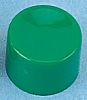 Green Push Button Cap, for use with Apem
