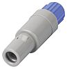 Lemo Solder Connector, 8 Contacts, Cable Mount