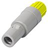 Lemo Connector, 4 contacts Cable Mount Plug, Solder
