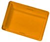 Panel Mount Indicator Lens Rectangle Style, Amber, 24