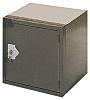 RS PRO 1 Door Grey Locker, 305 mm