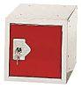 RS PRO 1 Door Red Locker, 305 mm