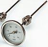 Dial Thermometer, Centigrade Scale, -50 → +50 °C,