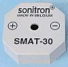Zumbador Piezoeléctrico Sonitron SMAT-24-P10, 90dB, Montaje en orificio pasante, Continua, Externo