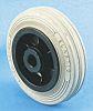 LAG Black, Grey Rubber Castor Wheels 13108 G,