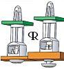 4979874005298, 19.1mm High Nylon Snap Rivet Support for