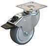 Guitel Braked Swivel Swivel Castor, 50kg Load Capacity,