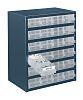 Raaco 24 Drawer Storage Unit, Steel, 435mm x
