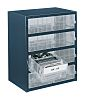 Raaco 8 Drawer Storage Unit, Steel, 435mm x