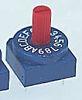 16 Way Through Hole DIP Switch 4P, Rotary
