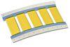 TE Connectivity Hőre zsugorodó kábeljelölő TMS-SCE-1/2-2.0-9 Heat Shrink Marker