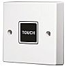 White Surface Mount Touch Control Light Switch White