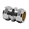 Pegler Yorkshire 15mm Straight Coupler Brass Compression Fitting