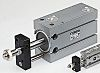 SMC Pneumatic Compact Cylinder 32mm Bore, 25mm Stroke,