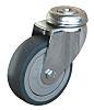 Guitel Stem Swivel Castors, 70daN, Rubber tyres