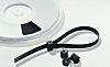 HellermannTyton, TELS1 Series Black Polyacetal Cable Tie, 15mm