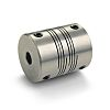 Ruland Stainless Steel Flexible Beam Coupling, MWS15-4-4-SS, Bore