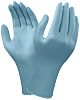 Ansell Blue Nitrile Disposable Gloves size 8.5 -