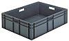 Schoeller Allibert 87L Grey PE Stacking Container, 235mm