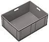 Schoeller Allibert 125L Grey PE Stacking Container, 319mm