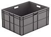 Schoeller Allibert 162L Grey PE Stacking Container, 412mm