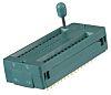 Socket DIP IC ZIF 3M 28 voies, Traversant, Entraxe de 2.54mm, largeur de rangée 15.24mm