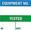 Brady Adhesive Pre-Printed Adhesive Label. Quantity: 50