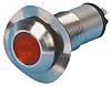 Marl Red Indicator, Solder Tab Termination, 12 V