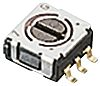 Copal Electronics SP Rotary Switch, 100 mA, Through