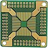 QFP-83, 64 Way Double Sided Extender Board Adapter