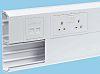 Schneider Electric White Dado Trunking, W210 mm x D52mm, L3m, uPVC